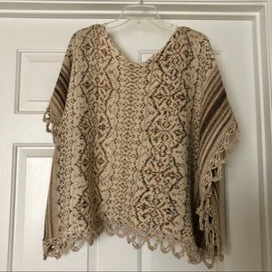 Free People Sweaters - Free People Knit Sweater Poncho